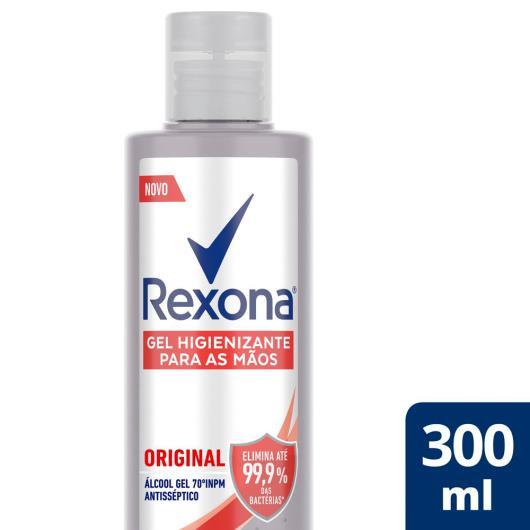 Álcool Rexona higienizador para mãos 70º 300ml - Imagem em destaque