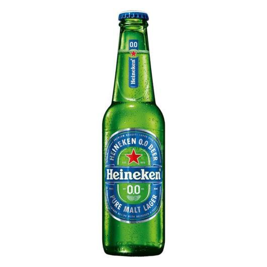 Cerveja Heineken 0,0% álcool Long Neck - 330ml - Imagem em destaque