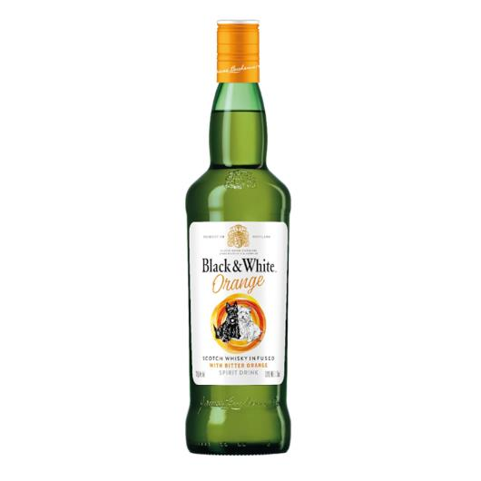 Whisky Black & White orange 700ml - Imagem em destaque