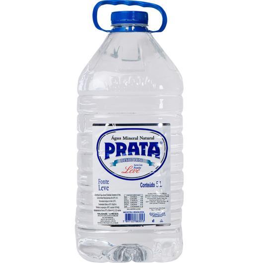 Água mineral Prata Leve sem gás pet 5L - Imagem em destaque
