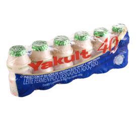 Leite fermentado Yakult 40 6x80g  480g