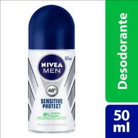 Desodorante Nivea roll on for men sensitive protect 50ml