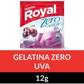 Gelatina em pó ROYAL Zero Uva 12g