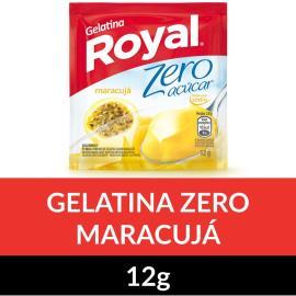 Gelatina em pó ROYAL Zero Maracujá 12g