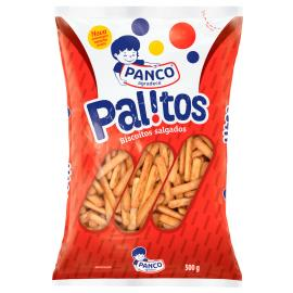 Biscoito Panco salgado palito 500g