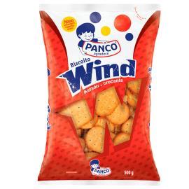 Biscoito Panco salgadinho wind 500g