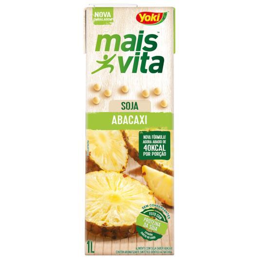 Bebida de soja Yoki mais vita sabor abacaxi 1L - Imagem em destaque