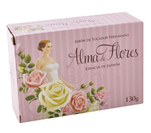 Sabonete Alma de Flores jasmim 130g - Imagem em destaque