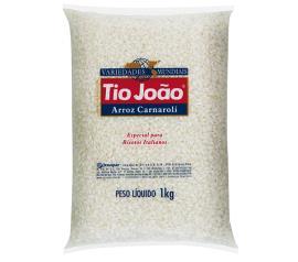 Arroz cozinha italiana Tio João 1kg