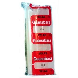 Vela prata N.5 Guanabara 21g