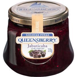 Geleia Queensberry Classic sabor jabuticaba com amora 320g