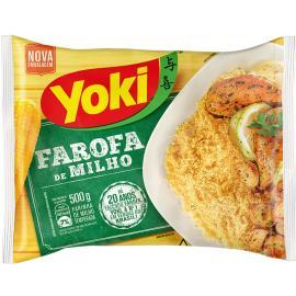 Farofa de milho pronta Yoki 500g