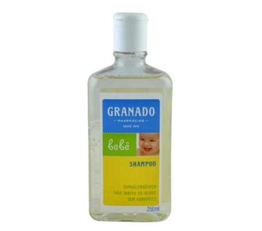 Shampoo Granado bebê 250ml - Imagem em destaque