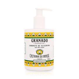 Sabonete líquido glicerinado vegetal terrapeutics Castanha do Brasil Granado 300ml
