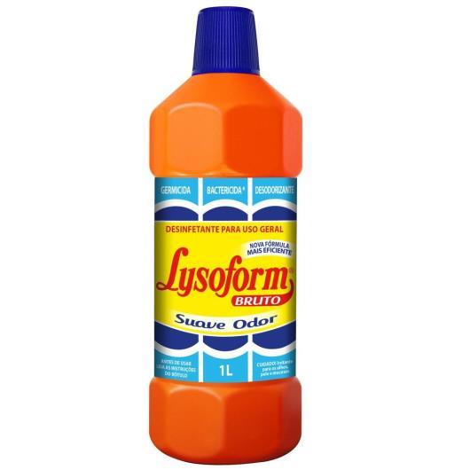 Desinfetante Lysoform Bruto Suave Odor 1l - Imagem em destaque