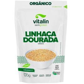 Semente de linhaça Vitalin orgânico dourado 120g