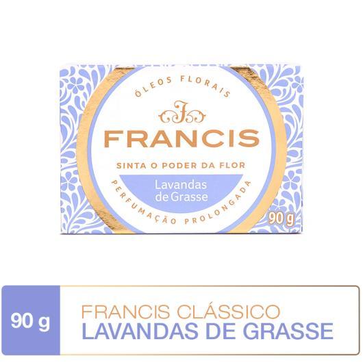 SABONETE EM BARRA FRANCIS CLÁSSICO LILAS 90G - Imagem em destaque
