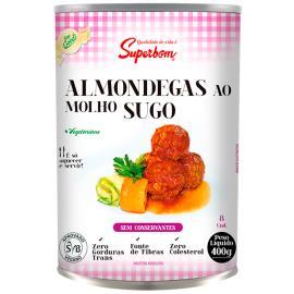Almôndega Superbom Soy Good vegetariana ao sugo 400g