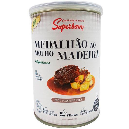 Medalhão Superbom vegetariano ao molho madeira 400g - Imagem em destaque
