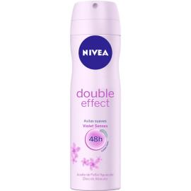 Desodorante Nivea aerossol double effect 150ml
