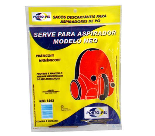 Saco para aspirador de pó Porto Pel Modelo Neo - Imagem em destaque