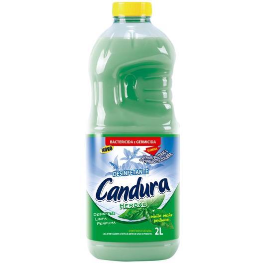 Desinfetante Candura Herbal 2L - Imagem em destaque