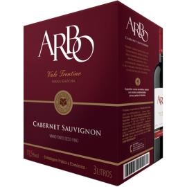 "Vinho Arbo Cabernet Sauvignon Tinto Seco ""bag in box"" 3L"