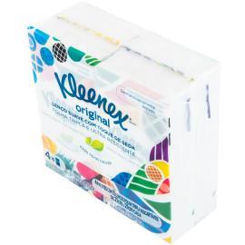 Lenço de papel Kleenex com 4x10 unidades