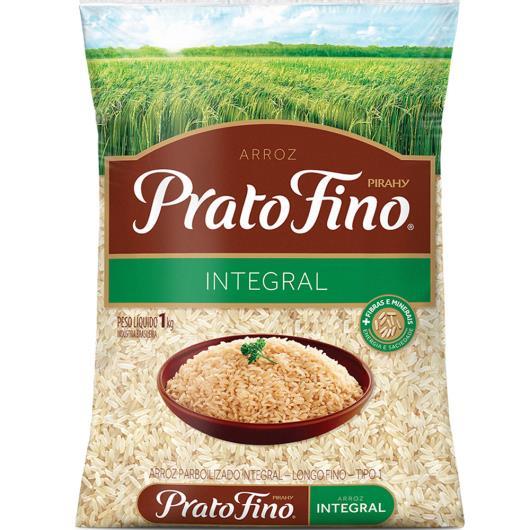 Arroz Integral Parboilizado Prato Fino 1kg - Imagem em destaque