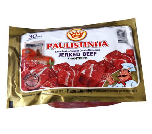 Jerked beef Paulistinha dianteiro 1kg - Imagem em destaque