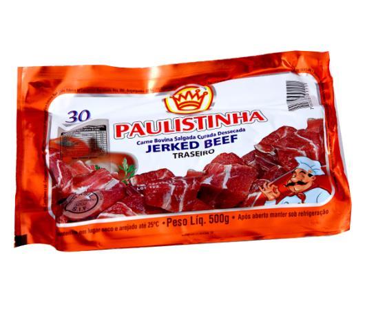 Jerked beef traseiro Paulistinha 500g - Imagem em destaque