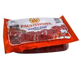 Carne Bovina Salgada Curada Dessecada Jerked Beef (traseiro) Paulistinha 1kg