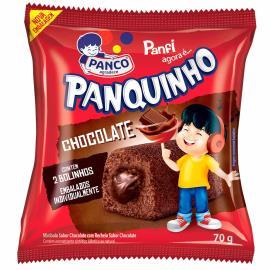Mini bolo Panco Panquinho chocolate 70g