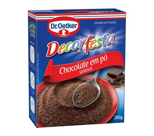 Chocolate em pó Oetker decorfesta 200g - Imagem em destaque