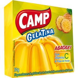 Gelatina em pó Camp abacaxi 30g
