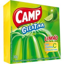 Gelatina em pó Camp sabor limão 30g