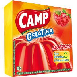 Gelatina morango Camp 30g
