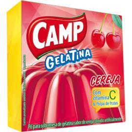 Gelatina em pó Camp cereja 30g