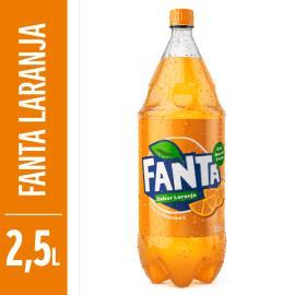 Refrigerante Fanta laranja pet  2,5L