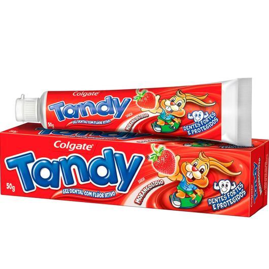 Creme Dental Infantil Colgate Tandy Morango Gel 50g - Imagem em destaque