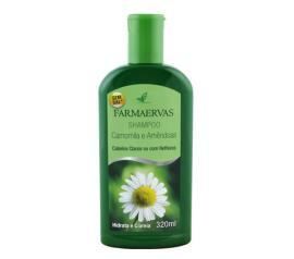 Shampoo Farmaervas camomila e amêndoa 320ml