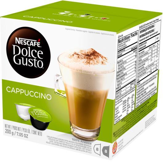 Café em Cápsula NESCAFÉ DOLCE GUSTO Cappuccino 200g - Imagem em destaque