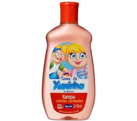 Shampoo Turma da Xuxinha infantil cabelos cacheados 210ml - Imagem em destaque