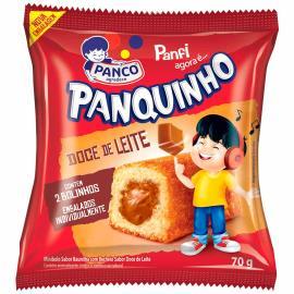 Mini Panco bolo Panquinho morango 70g