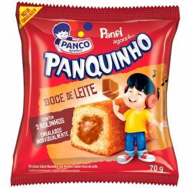 Mini Panco bolo Panquinho doce de leite 70g