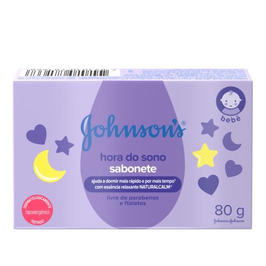 Sabonete em Barra JOHNSON'S® Baby Hora do Sono 80 g - Imagem em destaque