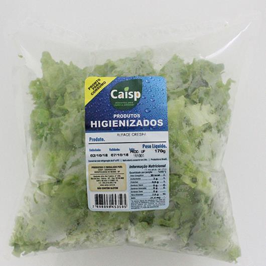 Alface Caisp Crespa Higienizada Bandeja 150g - Imagem em destaque