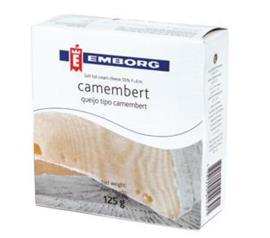 Queijo Camembert Emborg 125 g