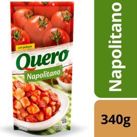 Molho de tomate napolitano Quero sachê 340 g