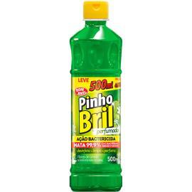 Desinfetante Pinho Bril flores de limão leve 500ml pague 450ml